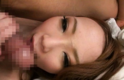 Two naughty Japanese models get fingered and pounded